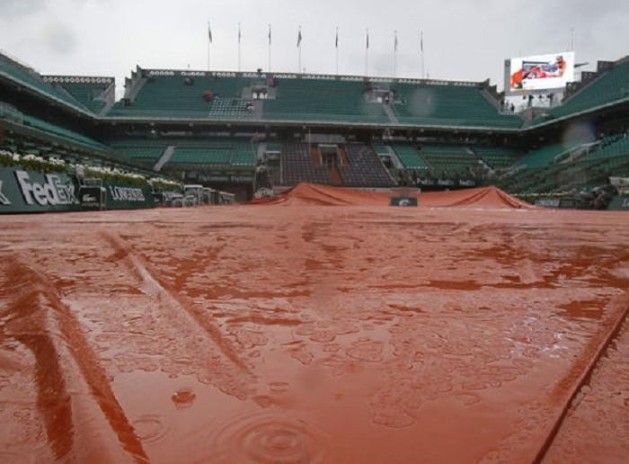 Tenis: Aplazan partidos de Roland Garros