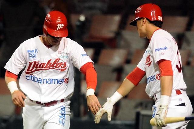 Beisbol, LMB: Diablos vino de atrás y vence a Veracruz en juego recortado por la lluvia