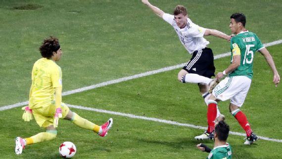 Fútbol: Alemania fue contundente para terminar con México