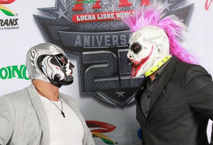 Lucha Libre: Wagner Jr. y Psycho Clown se calientan rumbo a Triplemania