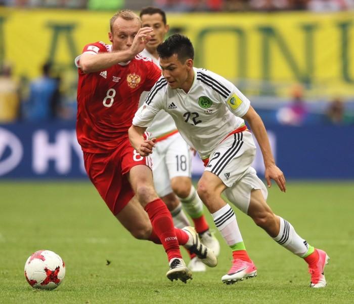 Fútbol: México consigue su pase a semifinales ante el local