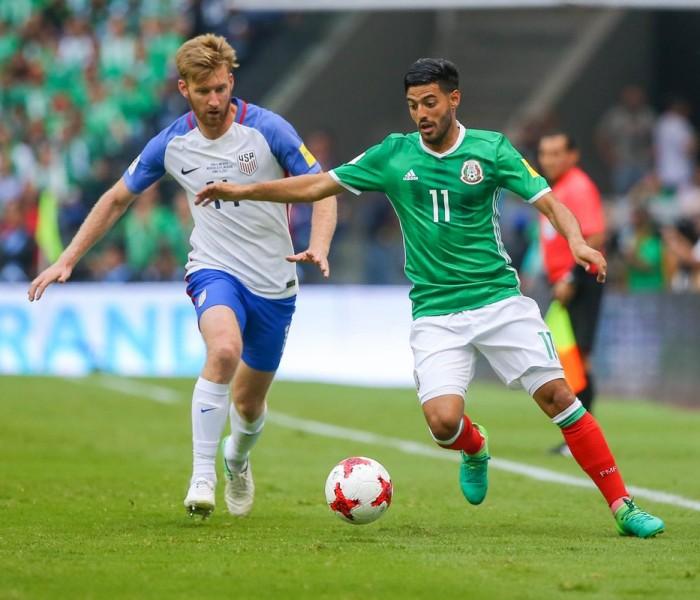 Fútbol: México no pudo pasar del empate contra Estados Unidos