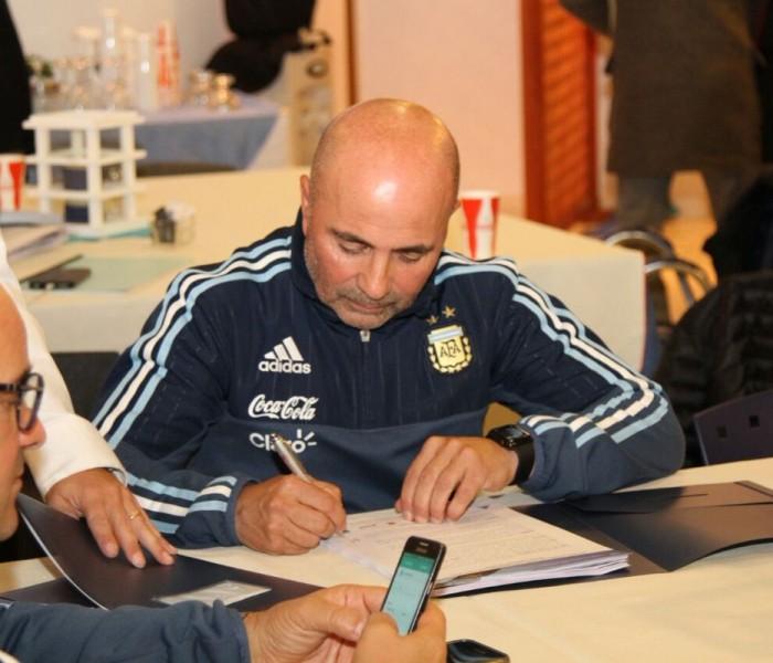 Fútbol: Sampaoli asume el cargo como técnico de Argentina