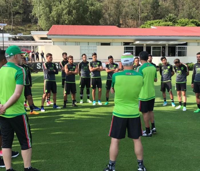 Fútbol: Selección Mexicana comienza la preparación para la eliminatoria