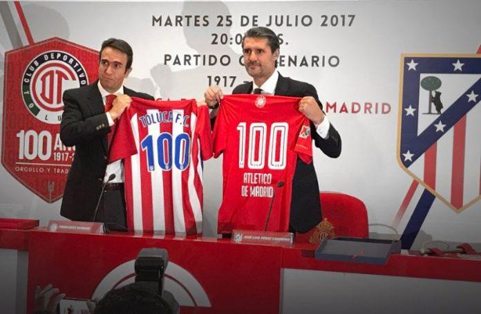 Fútbol: Esto costará observar el Toluca-Atlético de Madrid