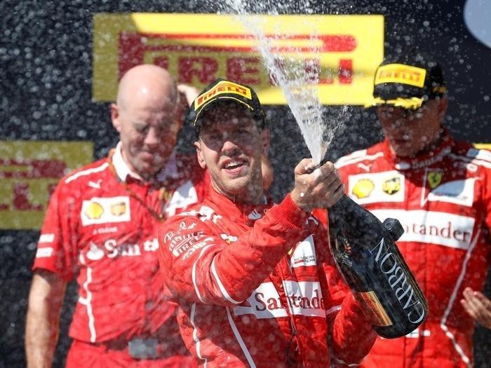 Automovilismo: Sebastián Vettel se impone en Hungría