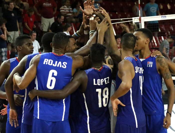 NORCECA, Voleibol: Cuba se queda con el tercer lugar