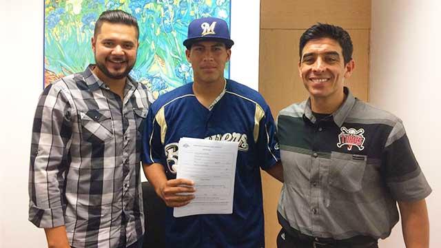 Beisbol, LMB: Víctor Castañeda, prospecto de Toros de Tijuana, firmó con Milwaukee