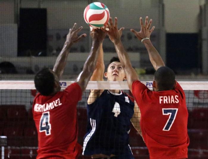NORCECA, Voleibol: Estados Unidos supera a Domicana