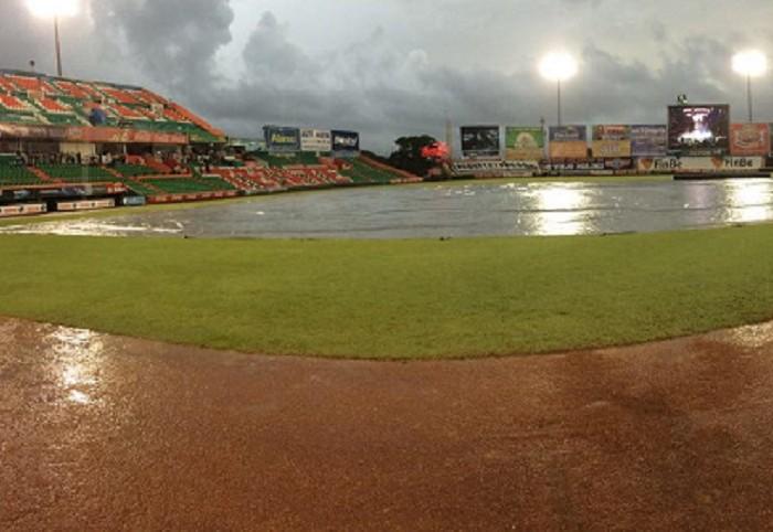 Beisbol, LMB: Fuerte lluvia impide el doble juego en Mérida.