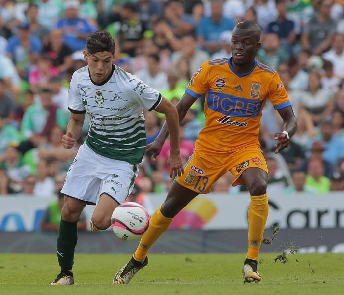 Fútbol: Santos detuvo la ofensiva de los Tigres