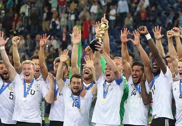 Fútbol: Alemania aprovechó error chileno para ser campeón de confederaciones