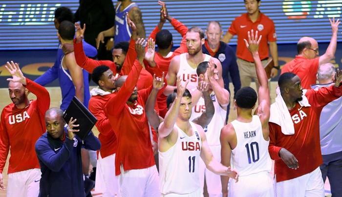 FIBA, Baloncesto: Estados Unidos listo para la semifinal