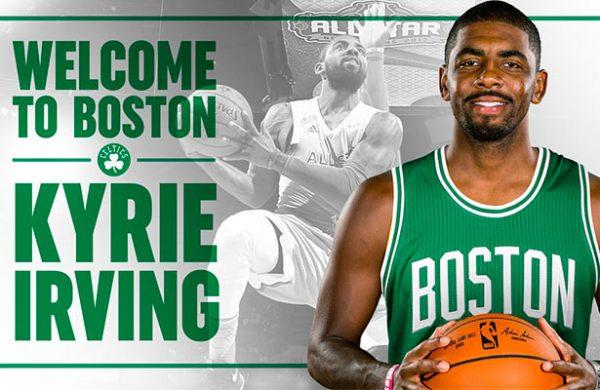 NBA, Baloncesto: Kyrie Irving se va a Celtics