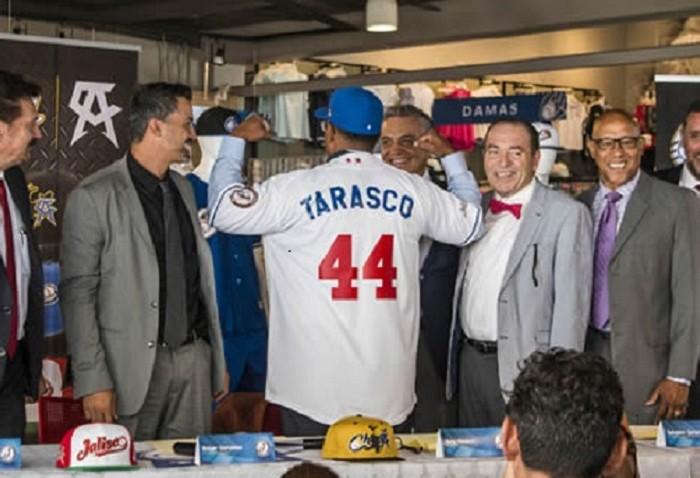 Beisbol, LMP: Tony Tarasco fue presentado como manager de Charros de Jalisco.