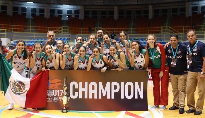 FIBA, Baloncesto: México se corona en Puerto Rico