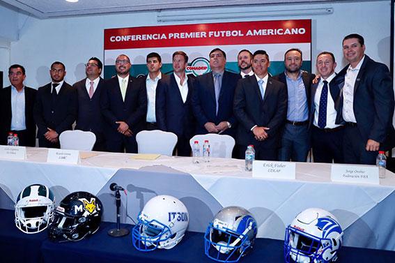 Futbol Americano: Presentan calendario de Conadeip