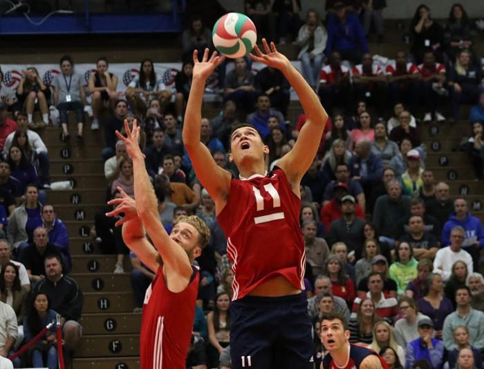 NORECA, Voleibol: Estados Unidos llega a cuartos de final