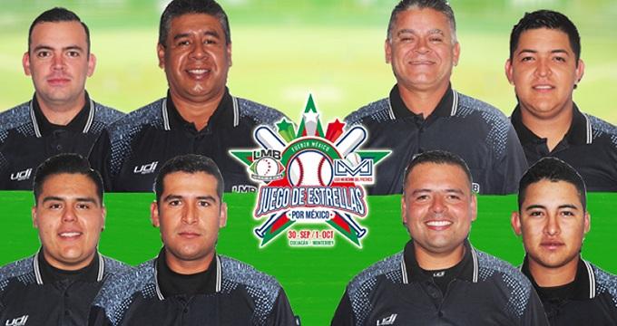 Beisbol, LMP, LMB: Ellos serán los Umpires para el Juego de Estrellas por México
