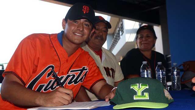 Beisbol, LMB: Luis Montero firmó con Gigantes de San Francisco