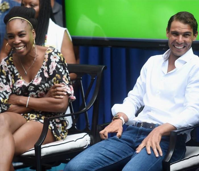 Tenis: Nadal y Venus listos para el Abierto Mexicano