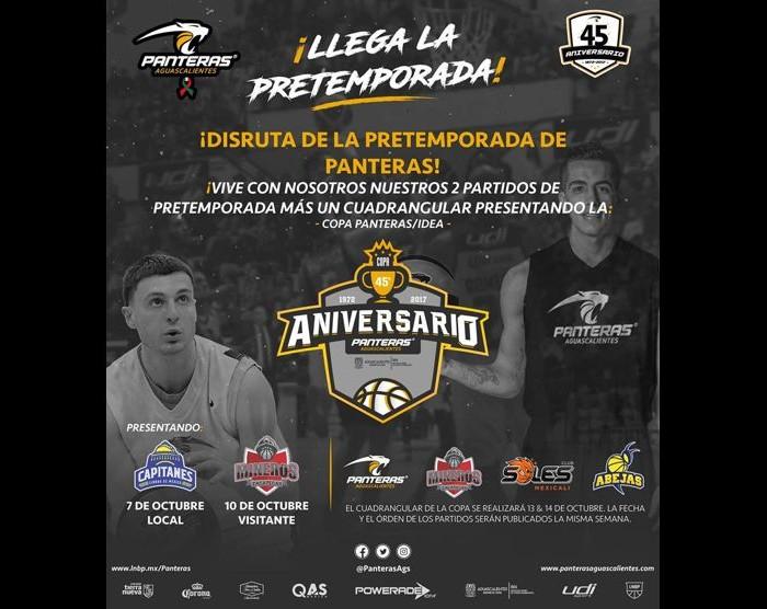 LNBP,Baloncesto: Panteras anuncia la copa del mismo nombre
