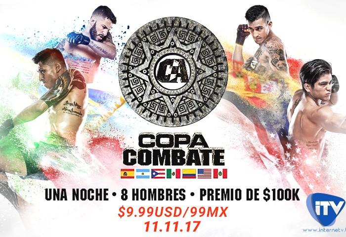 Copa Combate: Conoce más de los peleadores de Combate Américas