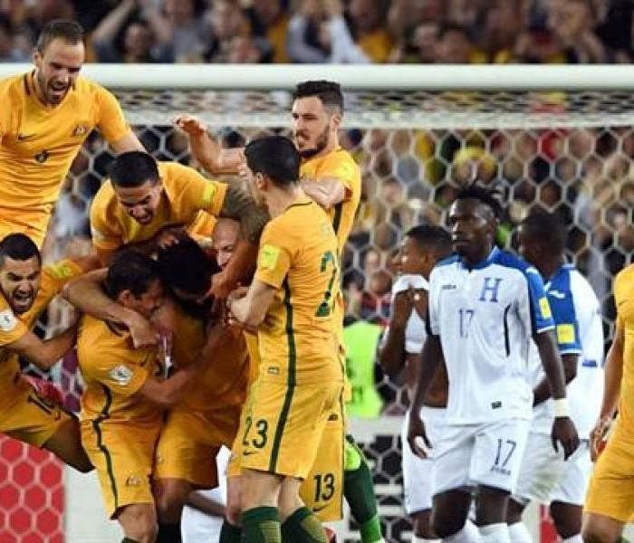 Fútbol: Honduras quedó eliminado, Australia va al Mundial
