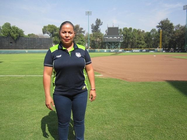 """Beisbol, LMB: """"Estoy muy agradecida con la Liga Mexicana por la oportunidad"""": Luz Alicia Gordoa"""