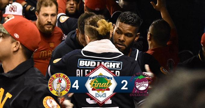 Beisbol, LMP: Despertó la ofensiva de Mayos y ganan el tercero de la Serie Final