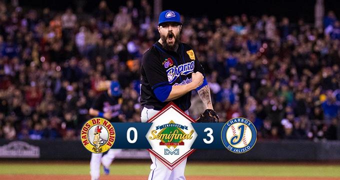 Beisbol, LMP: Oliver lució dominador y Charros gana para forzar el sexto juego