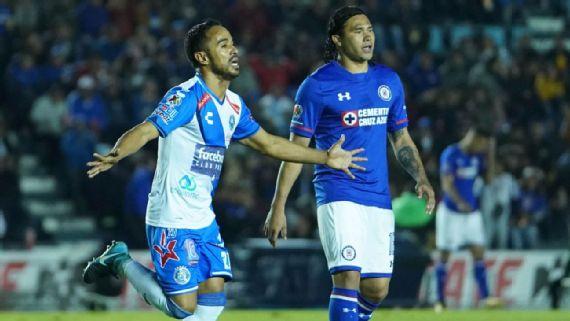 Fútbol: Puebla deja al borde de la eliminación de Copa a Cruz Azul