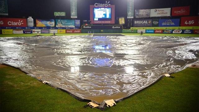Beisbol, LIDOM: La lluvia obligó a suspender la jornada de Playoffs en Dominicana