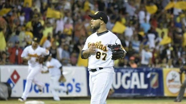 Beisbol, LIDOM: Águilas Cibaeñas blanqueó a Escogido para acceder a la Serie Final