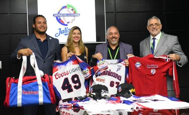 Beisbol, LIDOM: LIDOM presentó sus uniformes para la Serie del Caribe Jalisco 2018