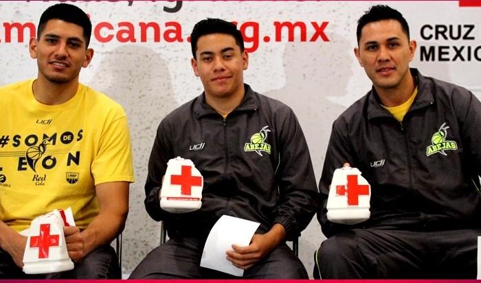 LNBP, Baloncesto: Las Abejas de León se unen a la colecta de la Cruz Roja