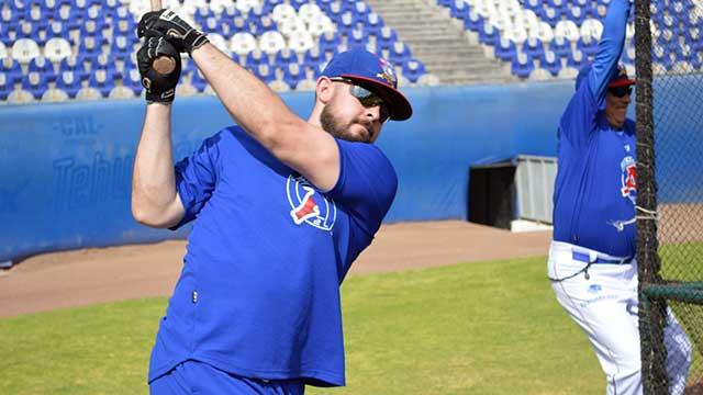 Beisbol, LMB: Destaca Eric Aguilera en la pretemporada de Acereros