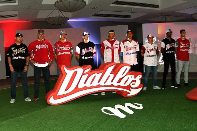Beisbol, LMB: Diablos Rojos del México presentó sus nuevos uniformes para 2018