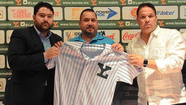 Beisbol, LMB: Roberto Vizcarra, comprometido con Leones