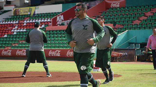 Beisbol, LMB: Leones inició sus entrenamientos con 10 jugadores en el Parque Kukulcán
