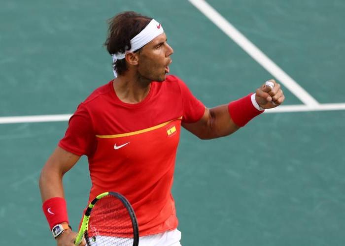 TENIS: Español Rafael Nadal se cita en cuartos de final de Roma con Verdasco