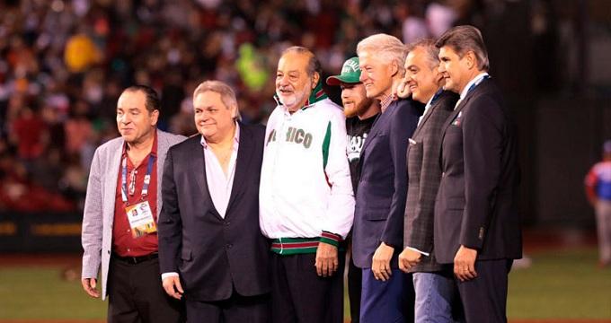 Beisbol, CBPC: Bill Clinton presente en la inauguración de la Serie del Caribe Jalisco 2018