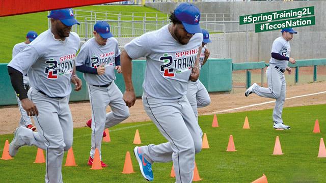 Beisbol, LMB: Tecolotes inició su Spring Training en Laredo