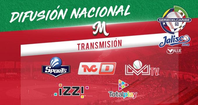 Beisbol, LMP: La Serie del Caribe Jalisco 2018 será la de mayor difusión nacional