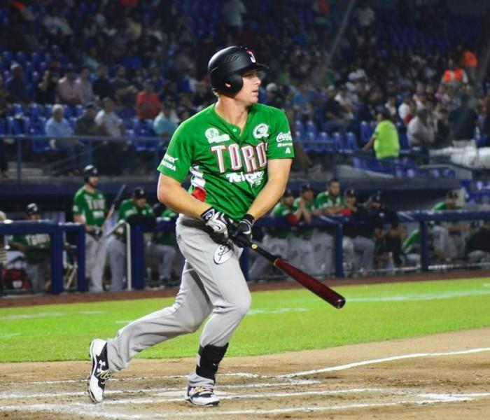 Beisbol, LMB: Dustin Martin, líder de carreras anotadas en Toros