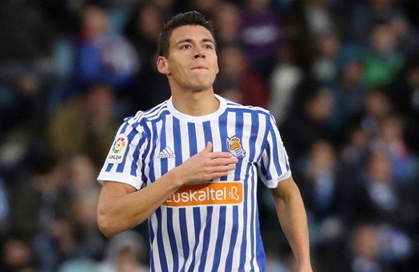 Fútbol: Héctor Moreno se estrenó como goleador de la Real Sociedad