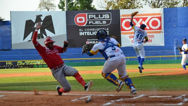 Beisbol, LMB: Olmecas ganó su primera serie de la temporada en casa