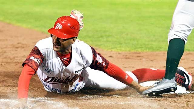 Beisbol, LMB: Diablos Rojos le pegó al líder del Sur