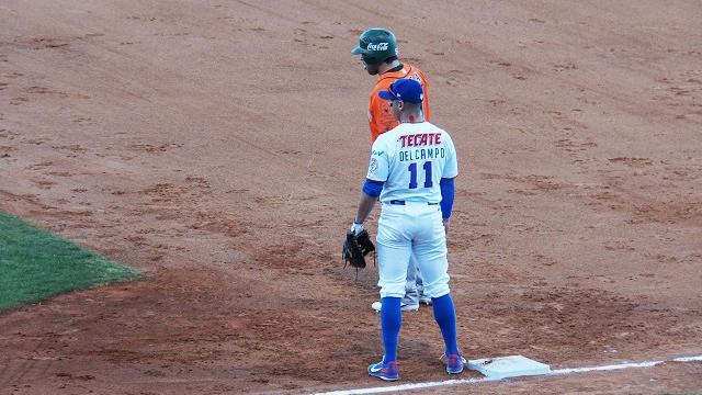 Beisbol, LMB: Jonathan Del Campo bateó el ciclo en el juego inaugural
