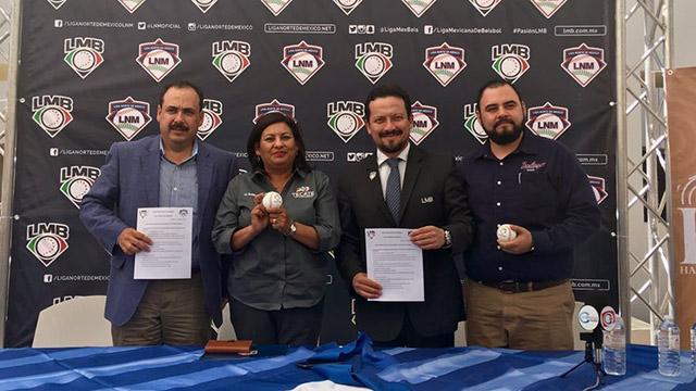 Beisbol, LMB: LNM y LMB firman convenio de trabajo